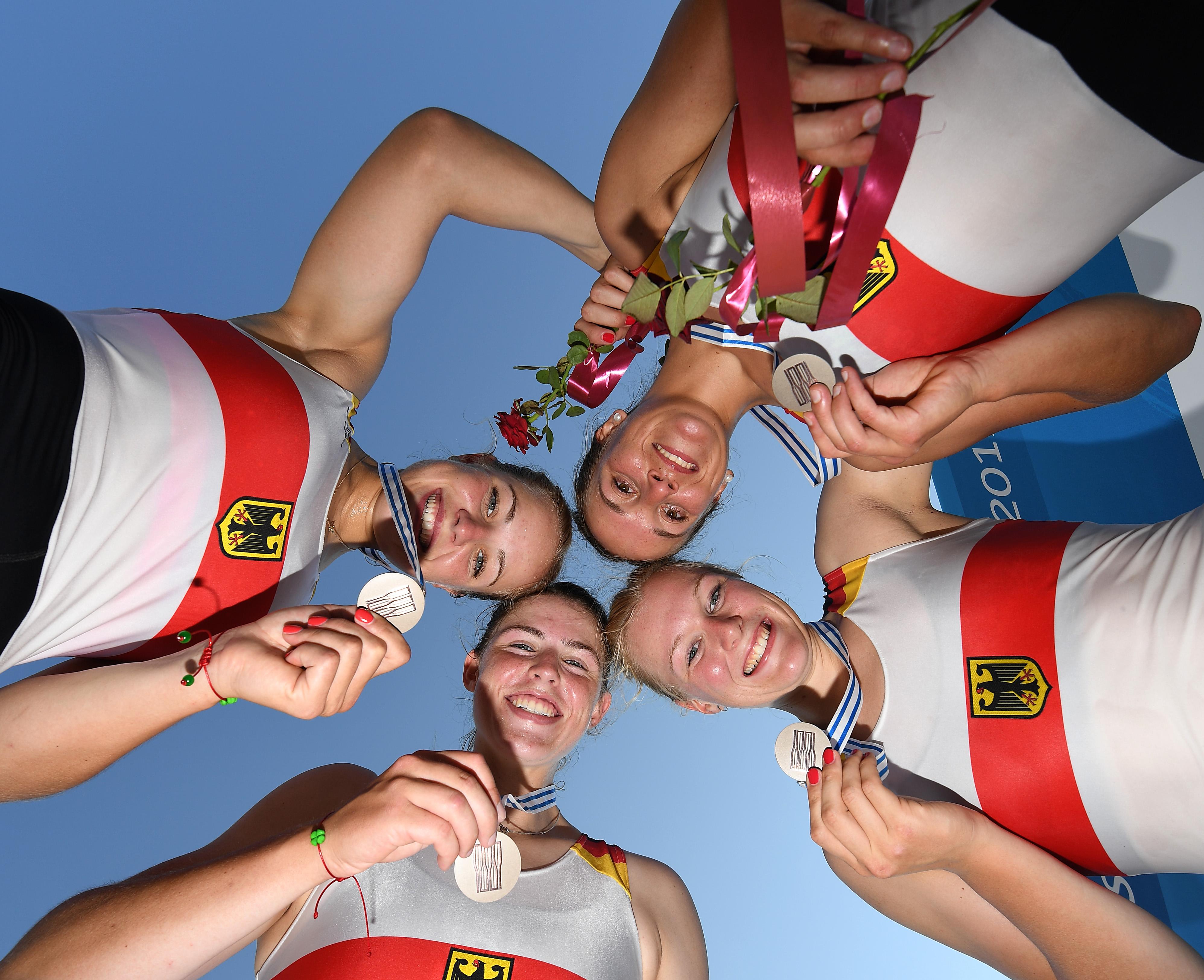 Frauen-Doppelvierer, U23-Weltmeisterschaften 2017, Plovdiv, Bulgarien