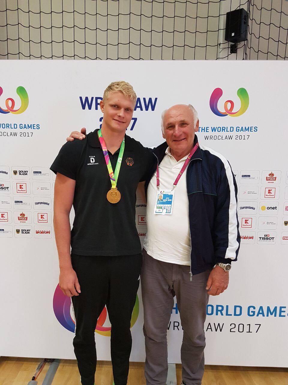 Oliver Zeidler, Johann Färber, World Games 2017, Breslau