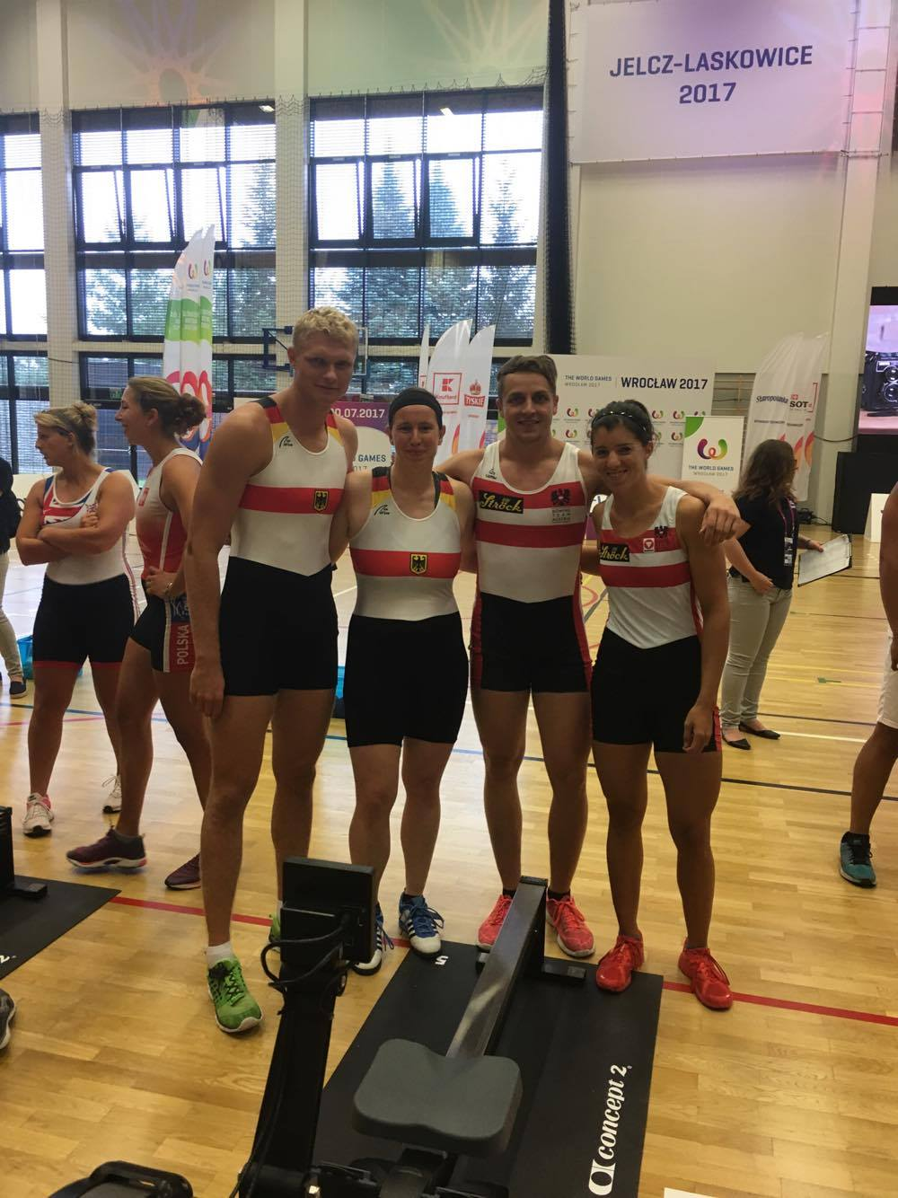 Mixed-Staffel, World Games 2017, Breslau