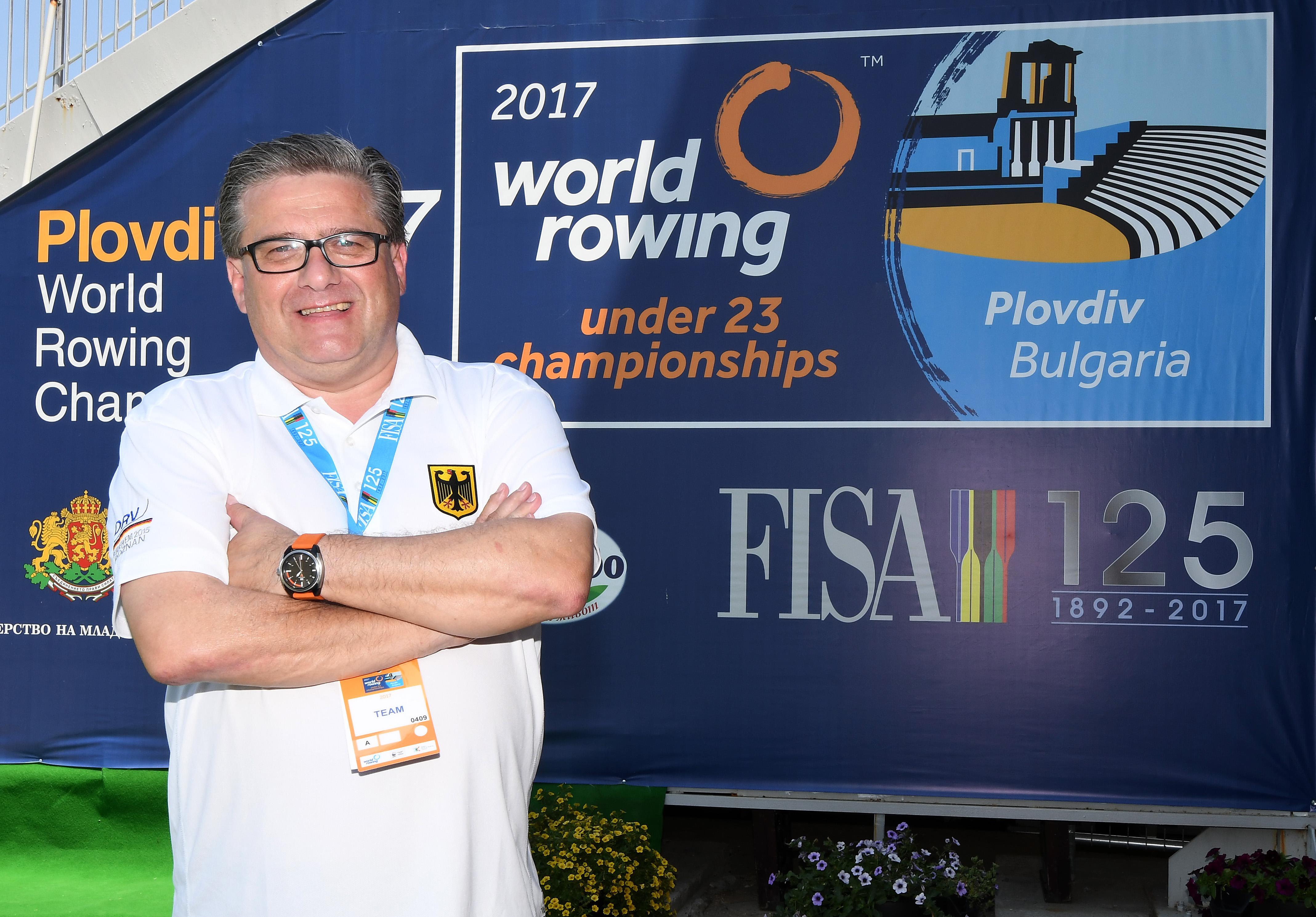 Uwe Graf, Mannschaftsleiter, U23-Weltmeisterschaften 2017, Plovdiv, Bulgarien